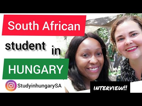 Stipendium Hungaricum scholarship - Alumni interview with South African student (Study in Hungary)