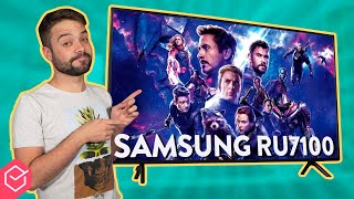 TV 4K SAMSUNG RU7100 - vale a pena?? | Análise / Review Completo