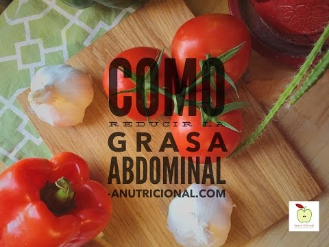 NUTRIRETO SEMANAL: COMO REDUCIR LA GRASA ABDOMINAL. FACEBOOK LIVE. ANUTRICIONAL TV