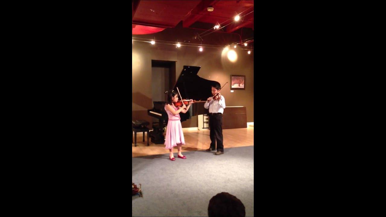 Suzuki Violin Duet Book