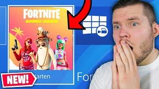 kostenloses GESCHENK in  Fortnite für ALLE!! Kein update?