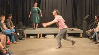 Daniel B. Davis' Rhythm Reclamation Exercises, Study #5 at H0l0 - duo Daniel B. Davis and Luisa Muhr