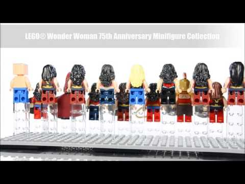 LEGO® Wonder Woman 75th Anniversary Minifigure Collection & Batman Superman Vehicle Pack