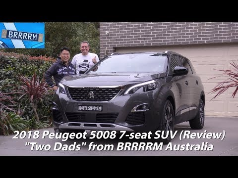 "2018 Peugeot 5008 7-seat SUV (""Two Dads"" Review) 