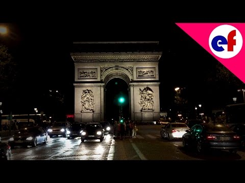 Champs-Élysées By Night (HD 60fps)
