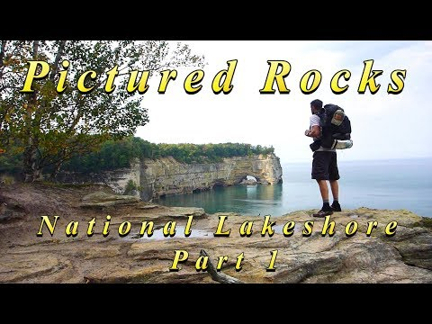 Pictured Rocks National Lakeshore - Backpacking/Hammock Camping - 42 miles on the NCT - Part 1 of 2