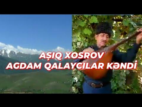 Aşıq Xosrov Agdam Qalaycılar kəndi gözəl Mənzərə