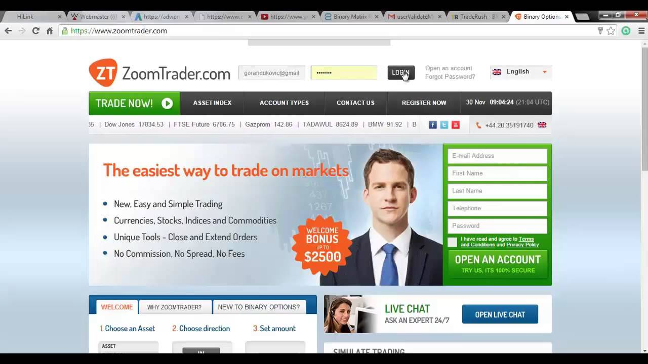 Binary options lawsuit