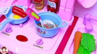 Cooking Kitchen Toy Playset Superhero Princess