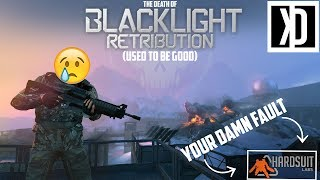 The Rant - The Death of Blacklight: Retribution