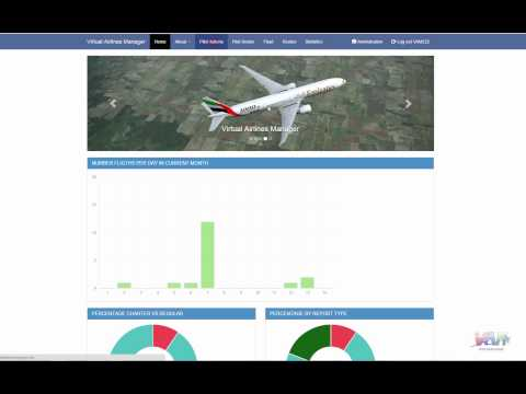Virtual Airlines Manager 2.1 Demo - ENGLISH