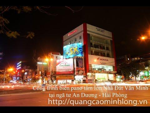 Làm biển quảng cáo giá rẻ tại Hải Phòng - quangcaominhlong.vn