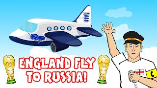 🛫ENGLAND FLY TO RUSSIA 2018!🛫 The Song! (Harry Kane