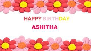 Ashitha   Birthday Postcards & Postales - Happy Birthday