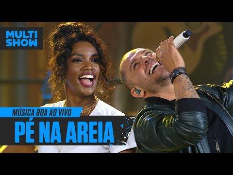 Pé Na Areia  IZA + Diogo Nogueira  Música Boa Ao Vivo  Música Multishow