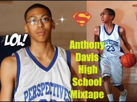 Anthony Davis and Jabari Parker in 9th grade HighSchool Workout