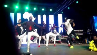 Sautisol Live and Die in Afrika tour Igiza Dance Crew trans