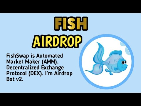 GET 220 FISHSWAP. ALREADY TRADING ON PANCAKESWAP. learn how to perform AIRDROP