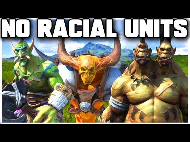 Grubby | WC3 | No Racial Units Challenge!