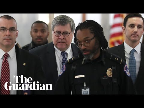 US senate holds confirmation hearing for William Barr - watch live