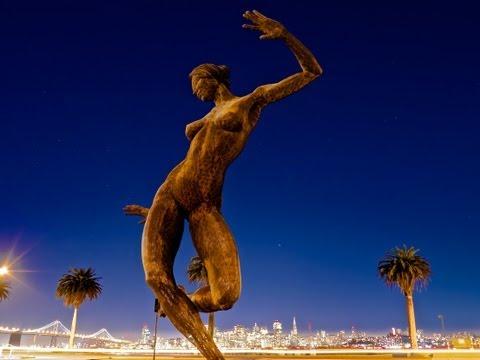 Bliss Dance and the San Francisco Skyline