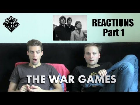 """Doctor Who Classic """"The War Games"""" (1969) Part 1 REACTIONS"""