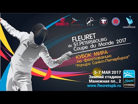 #FencingWC Men's foil World Cup teams event in St. Petersburg Final