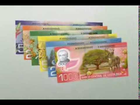 Conozca la nueva familia de billetes de Costa Rica