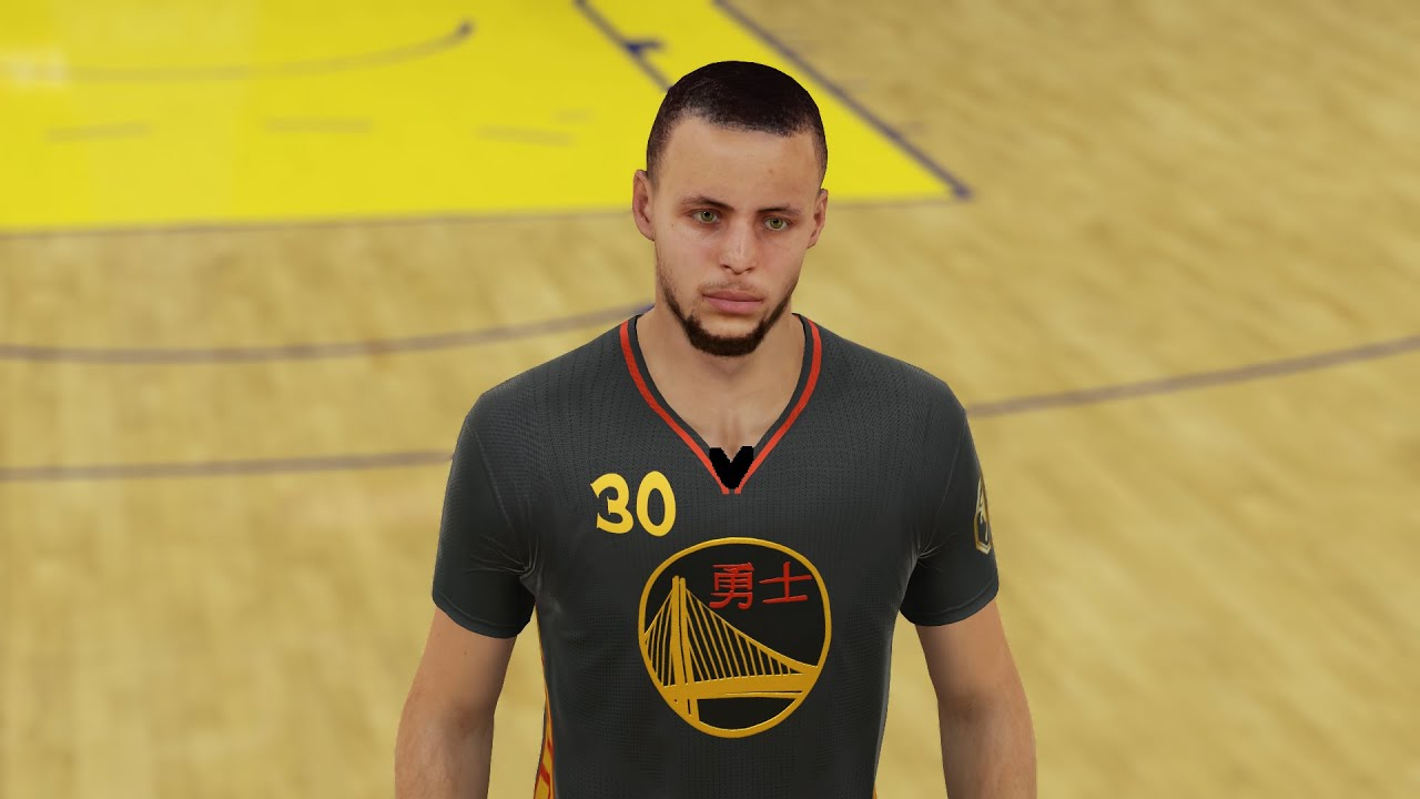 nba 2k15 steph curry in chinese new year jersey youtube - Warriors Chinese New Year Jersey