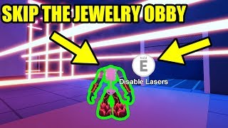 NEVER DO ANY JEWELRY STORE OBBY AGAIN with THIS TRICK... | Roblox Jailbreak New Update