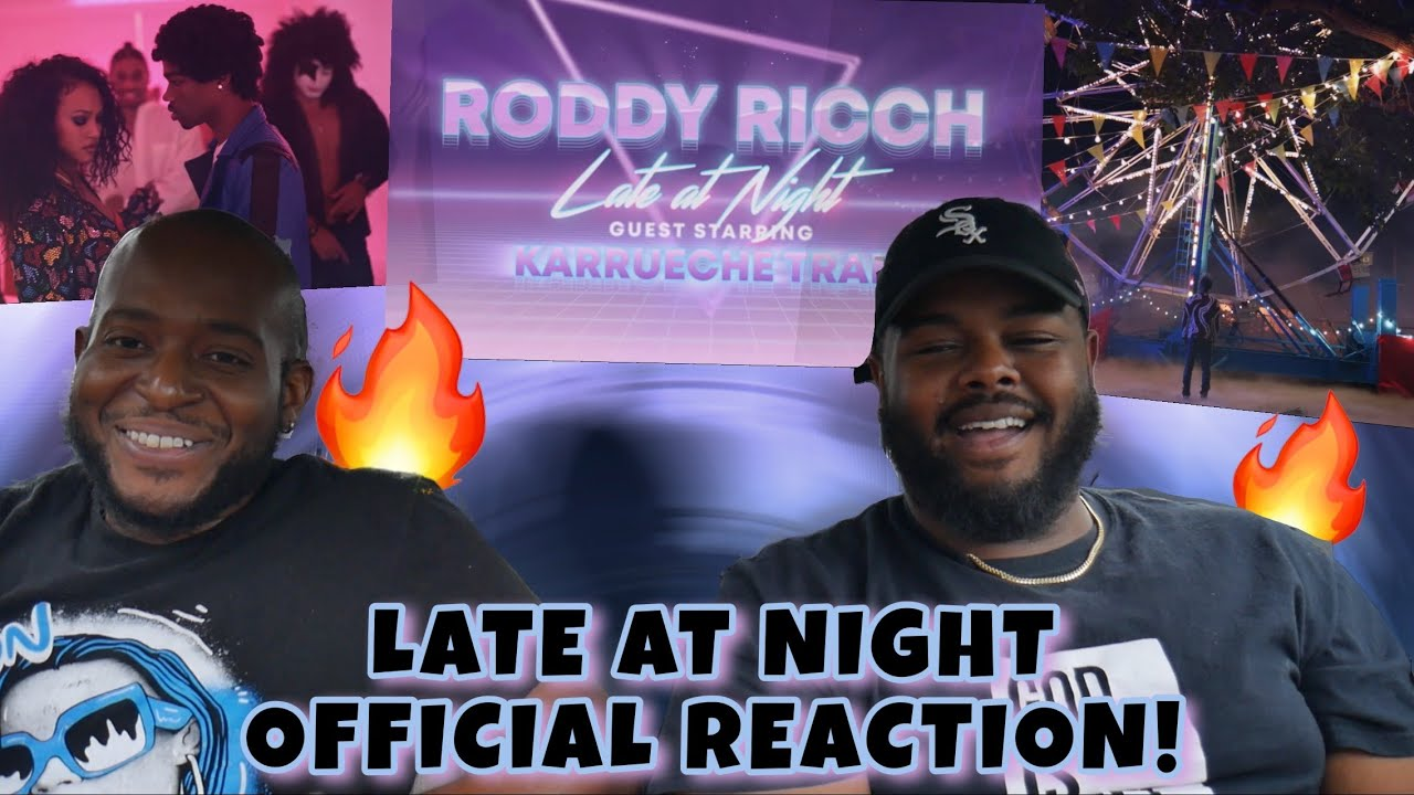 Roddy Ricch - Late At Night [Official Video Reaction] *THEY MADE IT A MOVIE!*  YBC ENT.