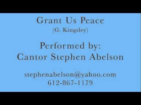 Cantor Stephen Abelson - Grant Us Peace