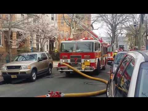 JERSEY CITY NEW JERSEY FIRE DEPARTMENT IN ACTION (2015)