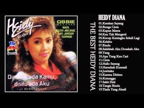 Heidy Diana - Full Album   Tembang Kenangan   Lagu Lawas Nostalgia Indonesia 80an - 90an Terpopuler