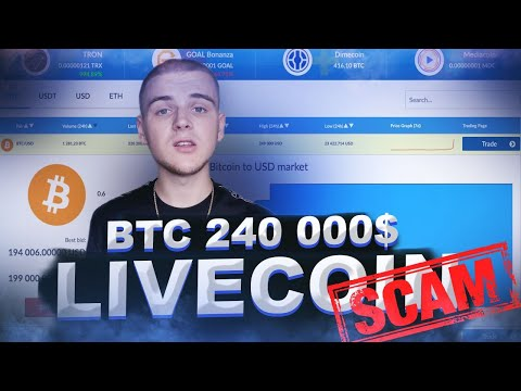 BITCOIN 450 000$ / LIVECOIN SCAM