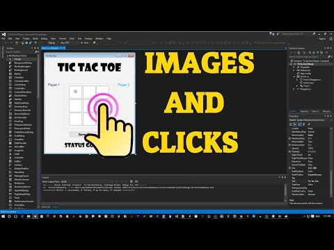 Adding Images and Handling Clicks to C# Tic-Tac-Toe