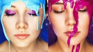 Фотосессия с жидкой краской (photoshoot with paint)