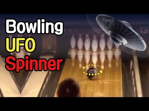 bowling UFO ball spinner helicopter roll collection / 볼링 UFO 스피너 헬리콥터 롤 자세 투구 구질