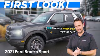 2021 Ford Bronco Sport: Worthy of the Bronco Badge?? | First Impressions