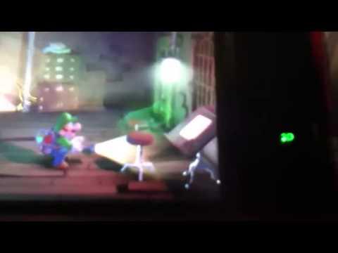 Luigi S Mansion Dark Moon Short Greenie Having Too Much Fun