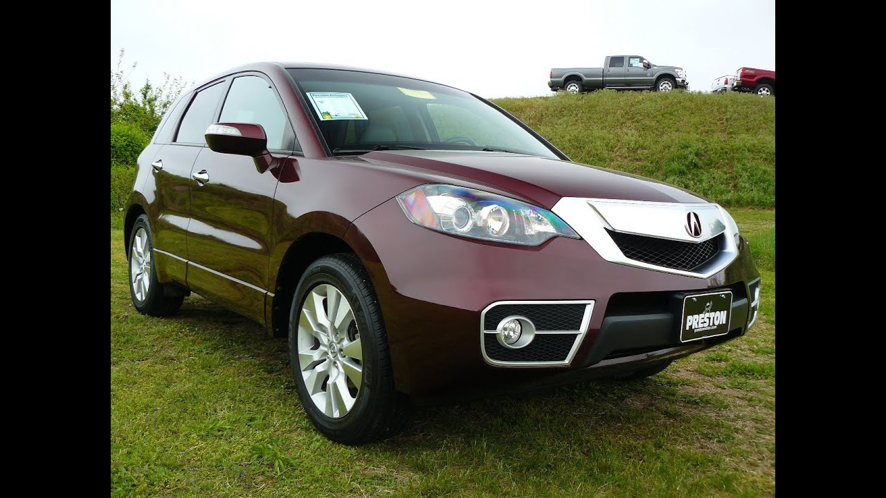 used acura for sale in maryland 2011 acura rdx awd turbo tech package f401174a youtube. Black Bedroom Furniture Sets. Home Design Ideas