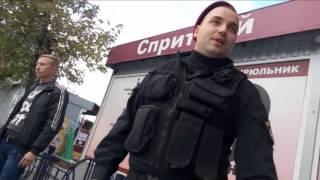 Работа полиции Киева/Беркута во всей красе.  Нагнись, потом обжалуй. Финал
