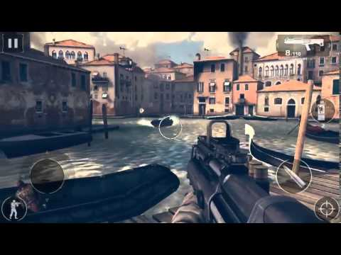 modern combat 4 mission 1 gameplay commentary