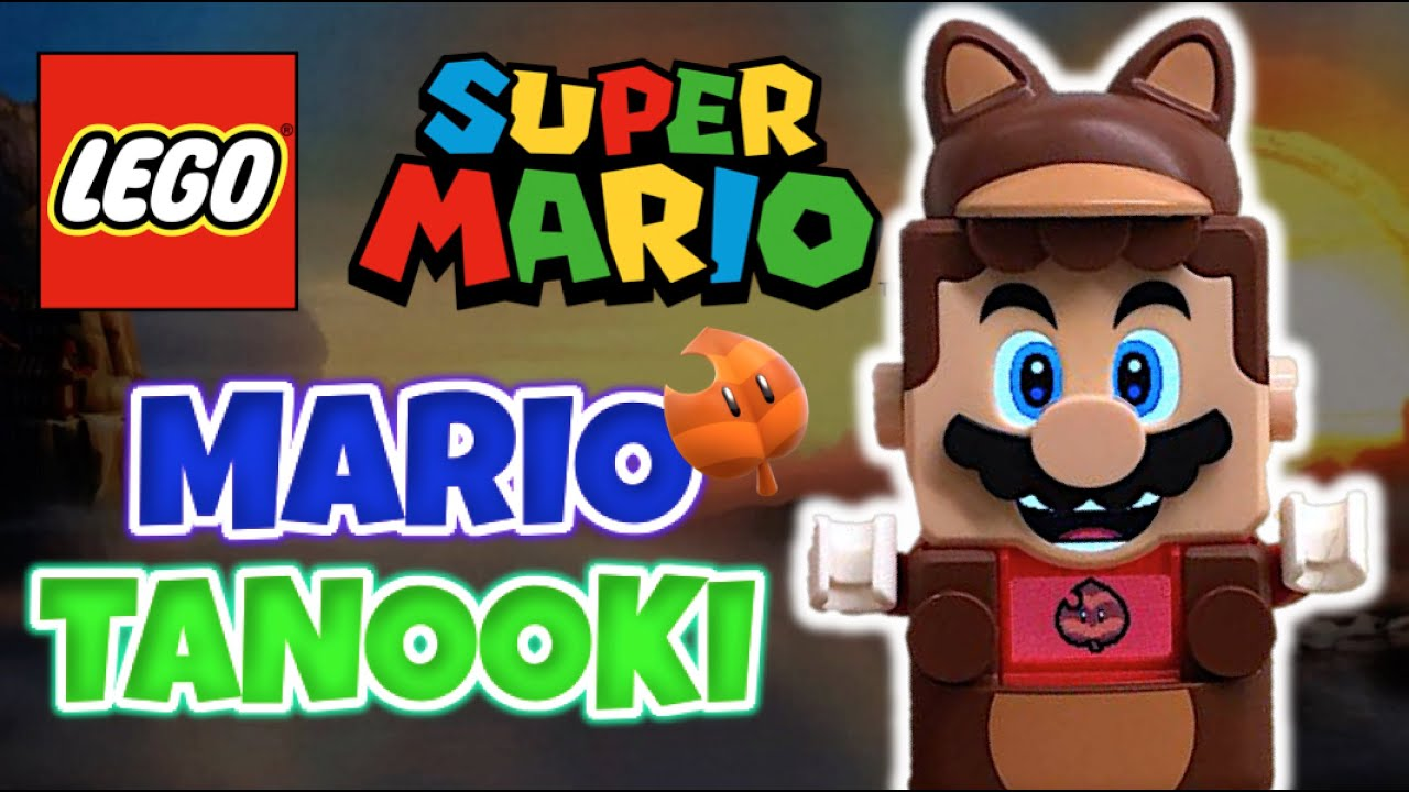 LEGO SUPER MARIO - Traje de MARIO TANOOKI | Pack Potenciador - Reseña Nintendo 2021 - TOY SHOTS