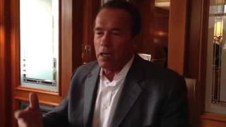 Арно́льд Ало́ис Шварцене́ггер: Вспоминая Джо Вейдера (краткое документальное видео оригинал)