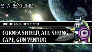[Starbound Locator][T2] - All-Seeing Cape, Cornea Shield, Gun Vendor - OUTDATED