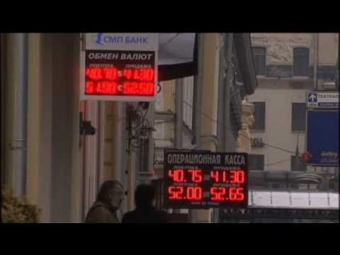 Russian Ruble Panic: Russians Rushing To Change Rubles For Dollars