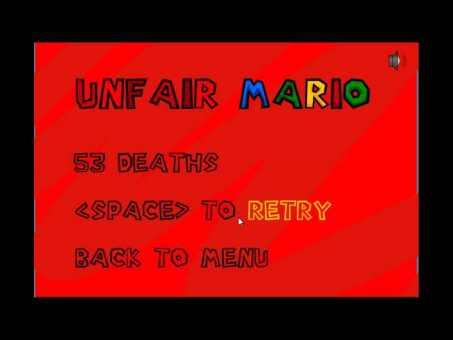 game paling ngeselin [unfair mario]