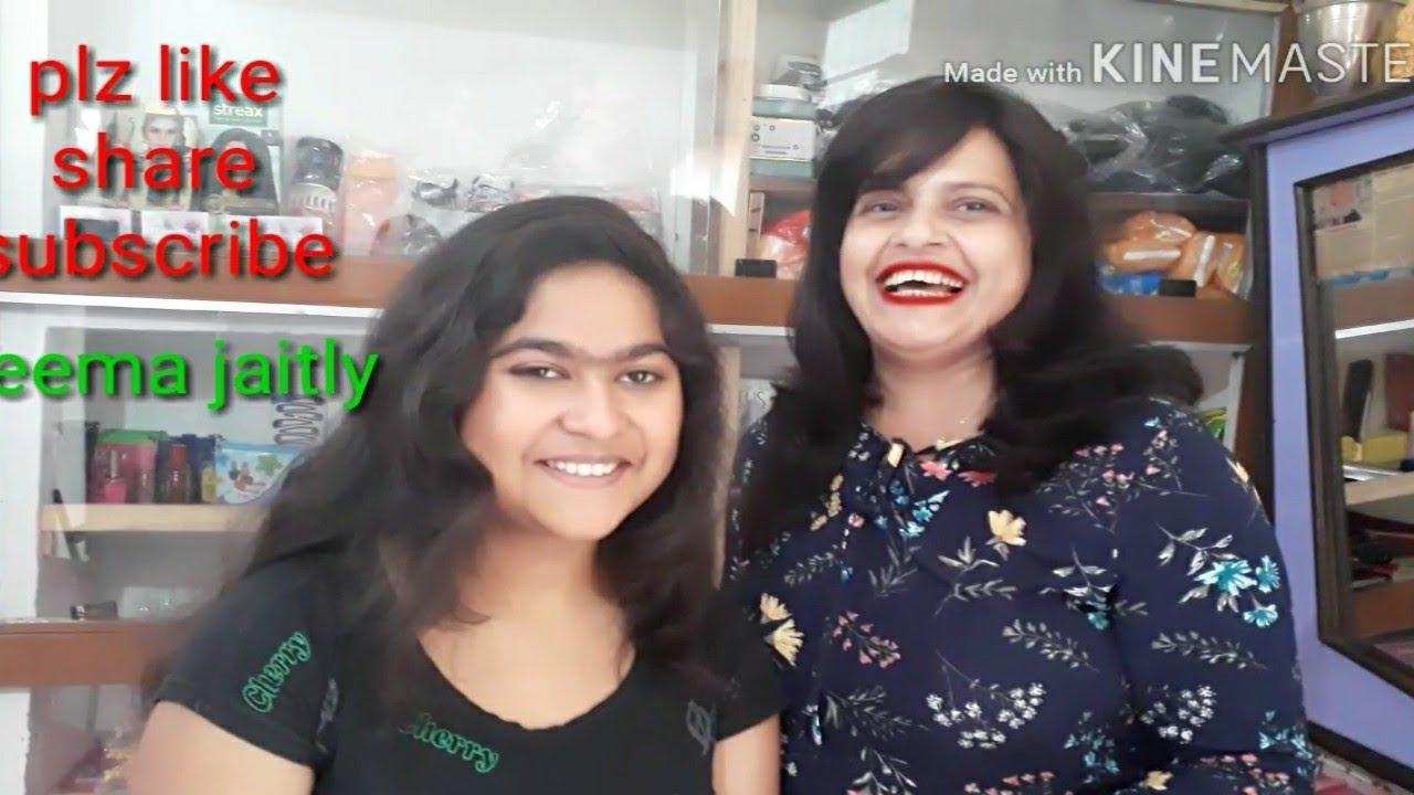 Girls Long hair cut 💇 Front steps bags back round cut Seema jaitly