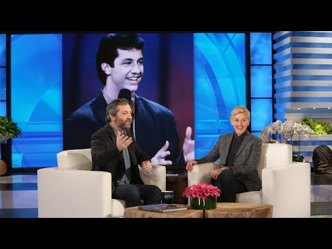 Ellen and Judd Apatow Take a Trip Down Memory Lane